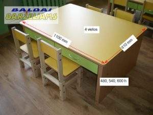 Reguliuojamas-aukstis-4-vietu-staliukas-matmenys