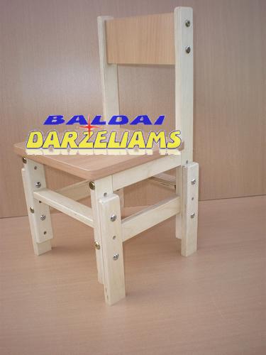 Reguliuojamo aukščio kėdutė