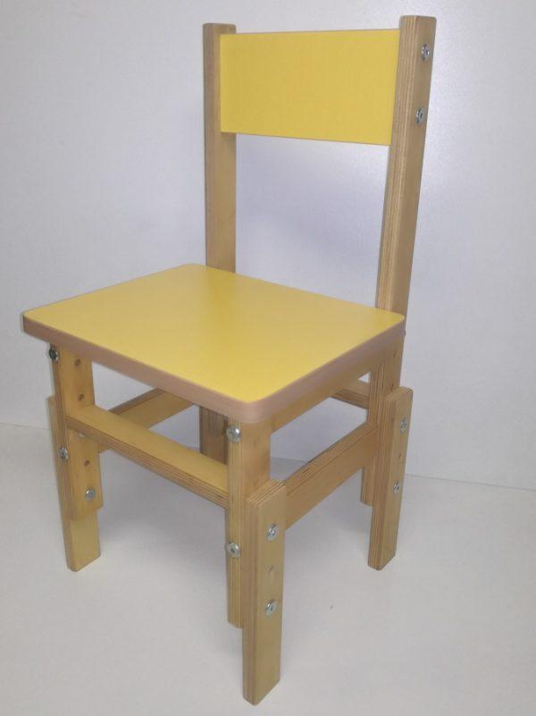 Reguliuojamo aukščio kėdutė darželiams